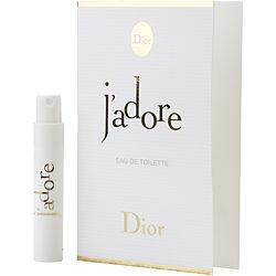 Jadore By Christian Dior Edt Spray Vial On Card