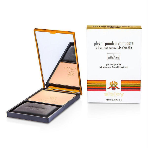 Sisley Phyto Poudre Compacte Pressed Powder - #3 Sable --9g-0.31oz By Sisley - beauty-price-match