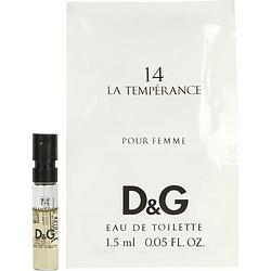 D & G 14 La Temperance By Dolce & Gabbana Edt Spray Vial - Buy Beauty Products