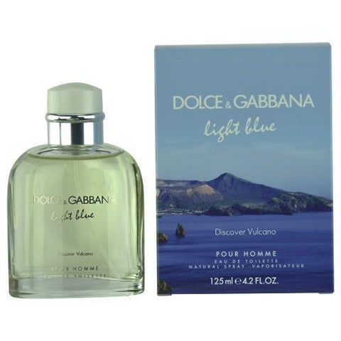 D & G Light Blue Discover Vulcano Pour Homme By Dolce & Gabbana Edt Spray 4.2 Oz (limited Edition)