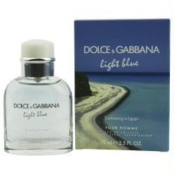 D & G Light Blue Swimming In Lipari Pour Homme By Dolce & Gabbana Edt Spray 2.5 Oz (limited Edition) - Buy Beauty Products