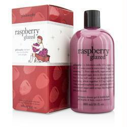 Raspberry Glazed Shampoo, Shower Gel & Bubble Bath --480ml-16oz - beauty-price-match