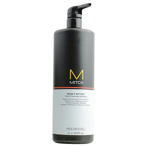 Mitch Heavy Hitter Deep Cleansing Shampoo 33.8 Oz - beauty-price-match