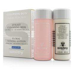 Cleansing Kit ( Dry  Sensitive ): Cleansing Milk With White Lily3oz + Floral Toning Lotion (alcohol Free) 3oz2pcs - Beauty Brands