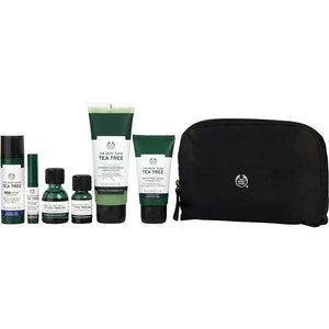 Set-tea Tree Anti Blemish Collection: Tea Tree Oil + Jumbo Tea Tree Oil + Mattifying Lotion + Clean Scrub + Night Lotion + Targeted Gel --6pcs - beauty-price-match