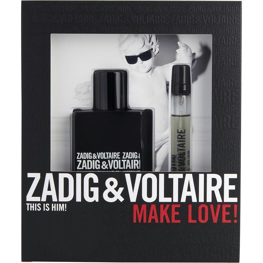 Zadig & Voltaire This Is Him! By Zadig & Voltaire Edt Spray 1.6 Oz & Edt Spray .33 Oz Mini - beauty-price-match