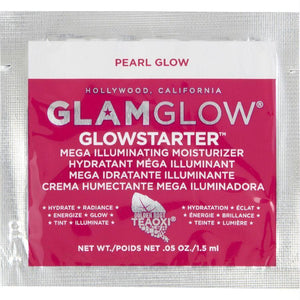 Glowstarter Mega Illuminating Moisturizer - Pearl Glow (packet) --1.5ml-.05oz - beauty-price-match