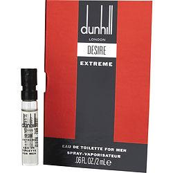 Desire Extreme By Alfred Dunhill Edt Spray Vial On Card