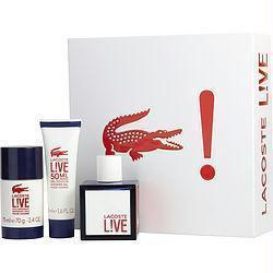 Lacoste Gift Set Lacoste Live By Lacoste - beauty-price-match