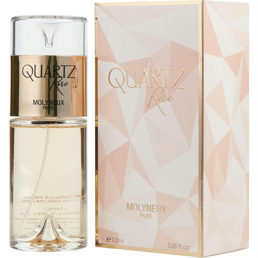 Quartz Rose By Molyneux Eau De Parfum Spray 3.3 Oz - beauty-price-match