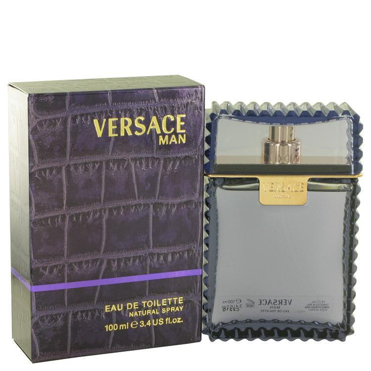 Versace Man by Versace Eau De Toilette Spray 3.3 oz - beauty-price-match