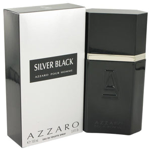Silver Black by Azzaro Eau De Toilette Spray 3.4 oz - beauty-price-match