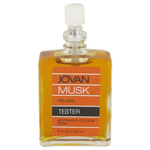 JOVAN MUSK by Jovan After Shave-Cologne Spray (Tester) 2 oz - beauty-price-match