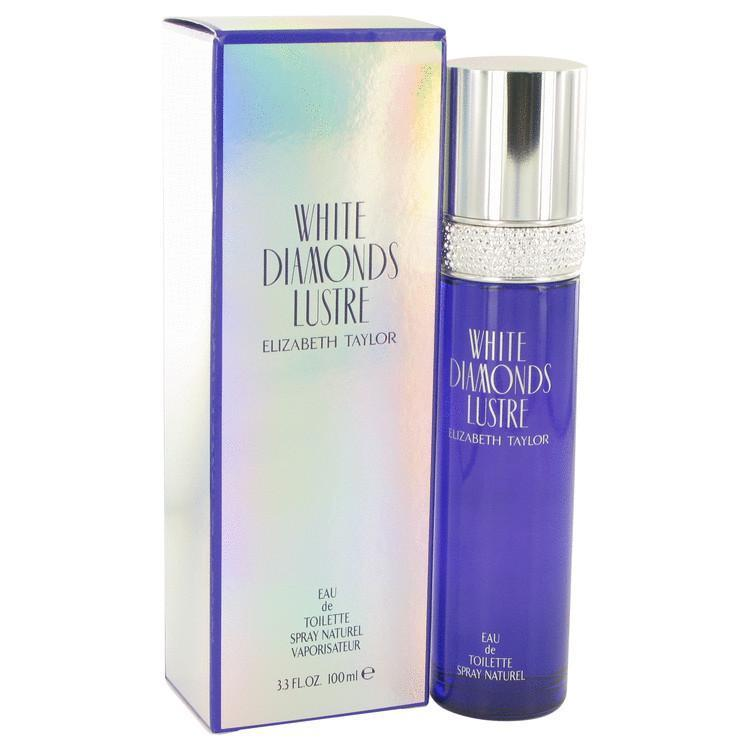 White Diamonds Lustre  Elizabeth Taylor EDT Spray 3.3 oz | HURRY AND HURRY HARD | BEAUTY PRICE MATCH GUARANTEED™ - beauty-price-match