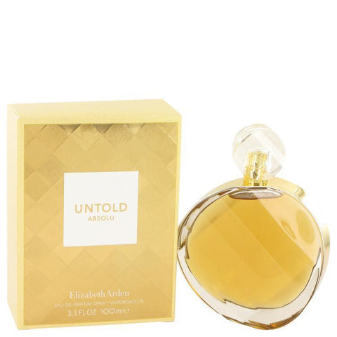 Untold Absolu by Elizabeth Arden Eau De Parfum Spray 3.3 oz - Buy Beauty Products