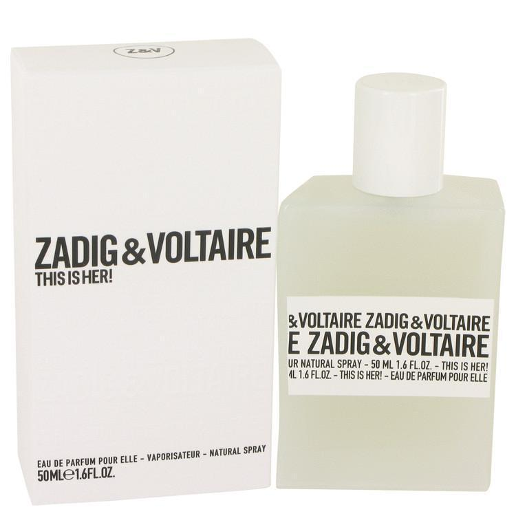 This is Her by Zadig & Voltaire Eau De Parfum Spray 1.6 oz - beauty-price-match