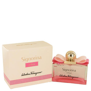 Signorina In Fiore by Salvatore Ferragamo Eau De Toilette Spray 3.4 oz - beauty-price-match