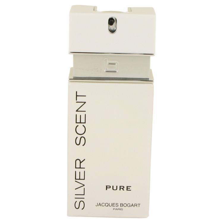 Silver Scent Pure by Jacques Bogart Eau De Toilette Spray (Tester) 3.4 oz | BEAUTY PRICE MATCH GUARANTEED™ - beauty-price-match