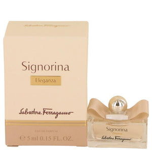 Signorina Eleganza by Salvatore Ferragamo Mini EDP .15 oz - beauty-price-match