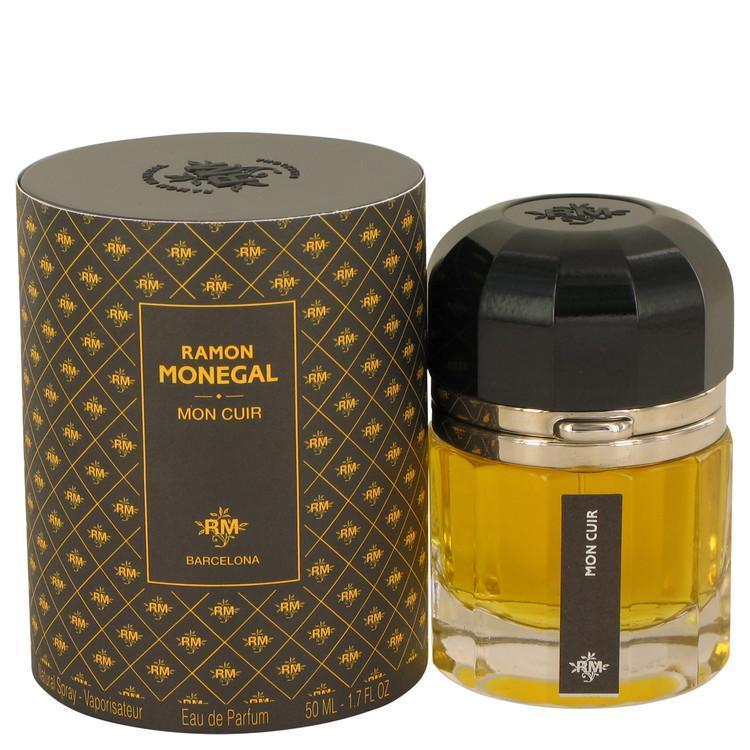 Ramon Monegal Mon Cuir by Ramon Monegal Eau De Parfum Spray 1.7 oz - beauty-price-match