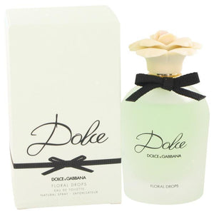D & G | Dolce Floral Drops by Dolce & Gabbana Eau De Toilette Spray (Tester) 2.5 oz | BEAUTY PRICE MATCH GUARANTEED™ - beauty-price-match