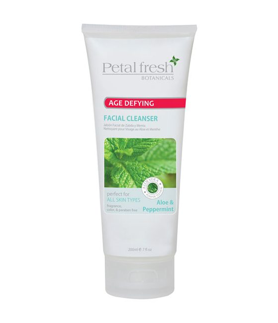 PETAL FRESH BOTANICALS AGE DEFYING ALOE & PEPPERMINT FACIAL CLEANSER - Buy Beauty Products