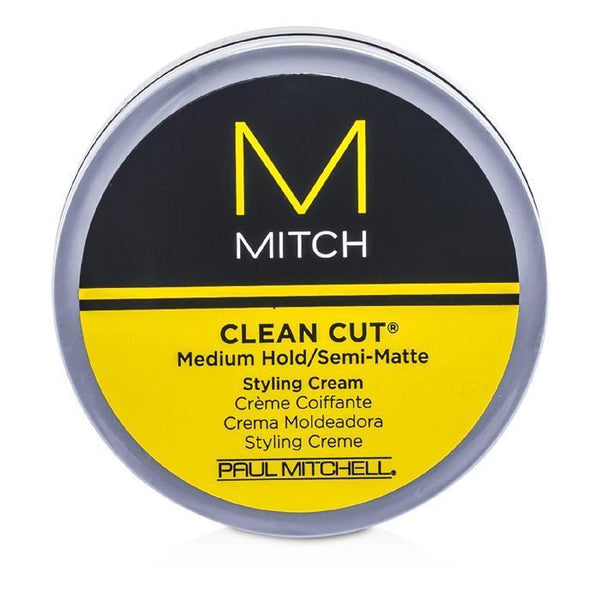Mitch Clean Cut Medium Hold-Semi-Matte Styling Cream - 85g-3oz | LIMITED STOCK - beauty-price-match