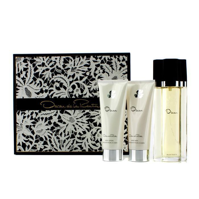 Oscar Coffret: Eau De Toilette Spray 100ml-3.4oz + Body Lotion 100ml-3.4oz + Body Bath Gel 100ml-3.4oz - 3pcs | LIMITED STOCK - beauty-price-match