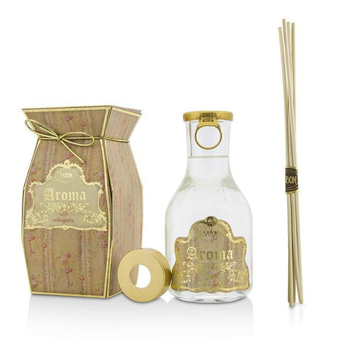 Aroma Reed Diffuser - Champagne- Soft Whispers (Musk) - 250ml-8.8oz