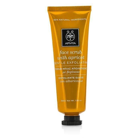 Face Scrub with Apricot - Gentle Exfoliating - 50ml-1.83oz - Buy Beauty Products