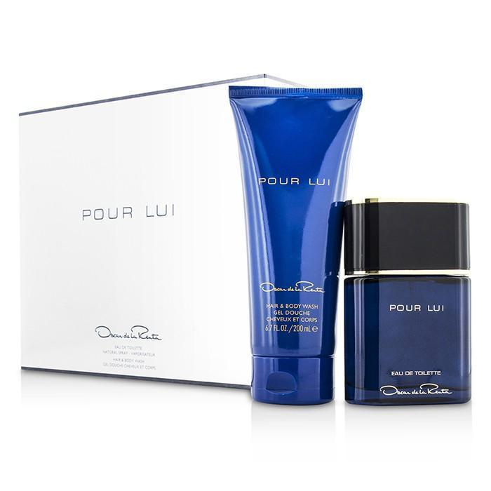 Pour Lui Coffret: Eau De Toilette Spray 90ml-3oz + Hair & Body Wash 200ml-6.7oz - 2pcs | LOW STOCK - beauty-price-match
