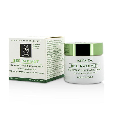 Bee Radiant Age Defense Illuminating Cream - Rich Texture - 50ml-1.76oz - Buy Beauty Products