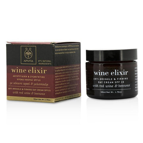 Wine Elixir Anti-Wrinkle & Firming Day Cream SPF 15 With Red Wine & Beeswax - 50ml-1.76oz - Buy Beauty Products