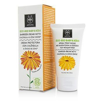 Eco-Bio Baby & Kids Barrier Cream With Calendula & Zinc Oxide - 75ml-2.82oz - Buy Beauty Products