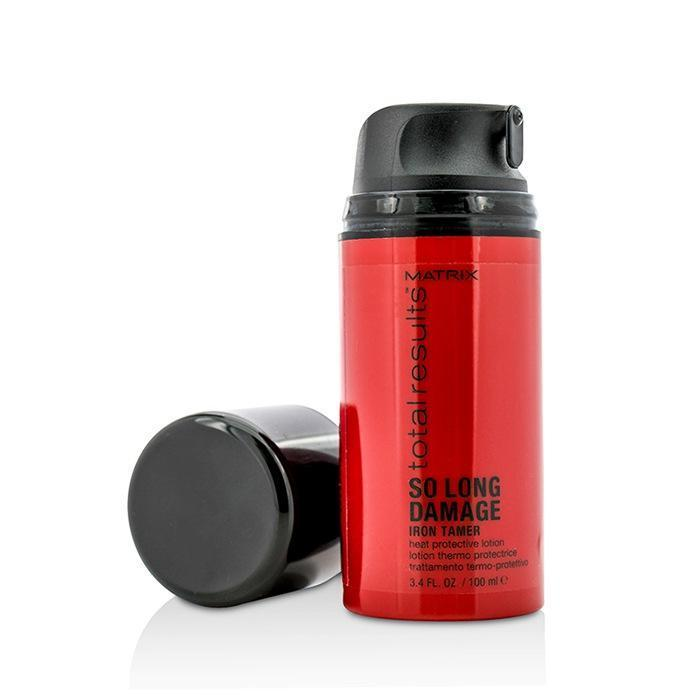 Total Results So Long Damage Iron Tamer (Heat Protective Lotion) - 100ml-3.4oz - beauty-price-match