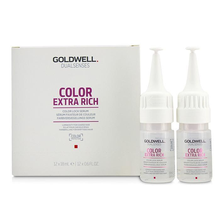 Dual Senses Color Extra Rich Color Lock Serum (Luminosity For Coarse Hair) - 12x18ml-0.6oz | LIMITED INVENTORY - beauty-price-match