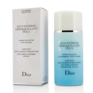 Duo Express Instant Eye Makeup Remover (Without Cellophane) - 125ml-4.2oz - buybeautybrands