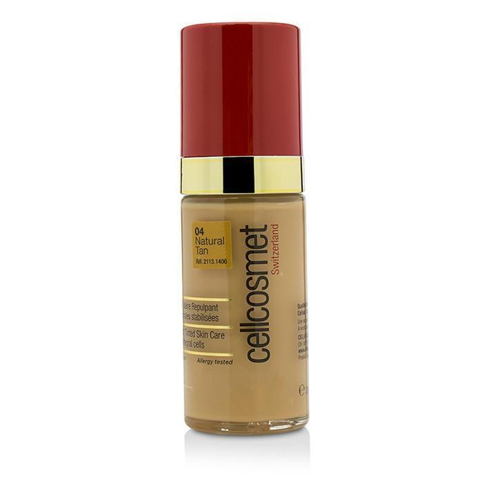 Cellcosmet CellTeint Plumping Cellular Tinted Skincare - #04 Natural Tan - 30ml-1.1oz | LIMITED INVENTORY - buybeautybrands
