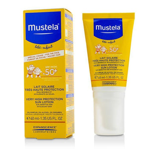 Very High Protection Sun Lotion Spf50+ - Sun Sensitive & Intolerant Skin - 40ml-1.35oz