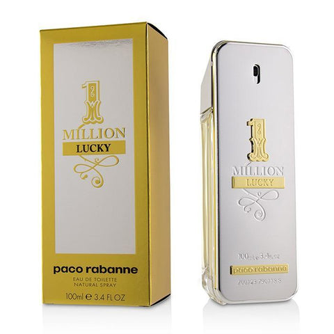 1 Million Lucky Eau De Toilette Spray - 100ml-3.4oz - beauty-price-match