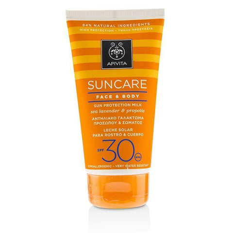 Suncare Face & Body Sun Protection Milk SPF 30 With Sea Lavender & Propolis - 150ml-5oz - Buy Beauty Products