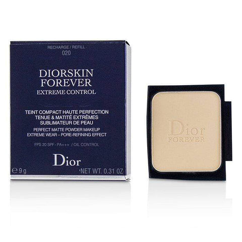 Diorskin Forever Extreme Control Perfect Matte Powder Makeup SPF 20 Refill - # 020 Light Beige - 9g-0.31oz