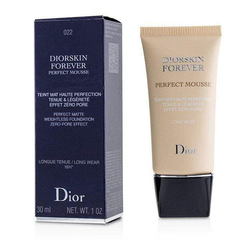 Diorskin Forever Perfect Mousse Foundation - # 022 Cameo - 30ml-1oz