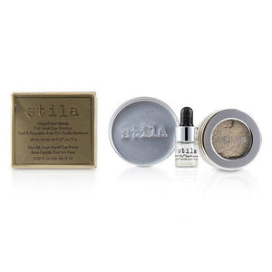Stila Magnificent Metals Foil Finish Eye Shadow With Mini Stay All Day Liquid Eye Primer - Metallic Pixie Dust - 2pcs - Beauty Brands