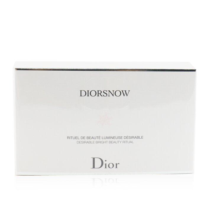 Diorsnow Brightening Collection: Milk Serum + Microinfused Lotion + Uv Protection Fluid Spf50 + Pouch  3pcs+1pouch - Beauty Brands