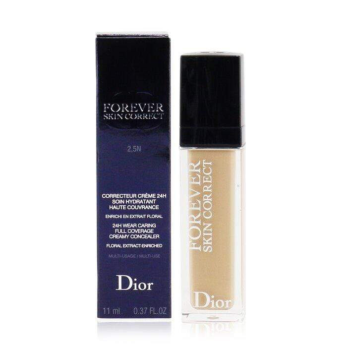 Dior Forever Skin Correct 24h Wear Creamy Concealer  # 2.5n Neutral  11ml0.37oz - Beauty Brands