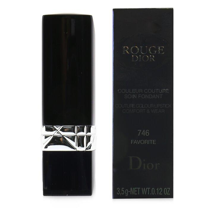 Rouge Dior Couture Colour Comfort & Wear Lipstick - # 746 Favorite - 3.5g-0.12oz - Beauty Brands