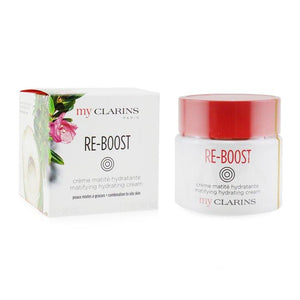 My Clarins Re-boost Matifying Hydrating Cream - For Combination To Oily Skin - 50ml-1.7oz - Beauty Brands