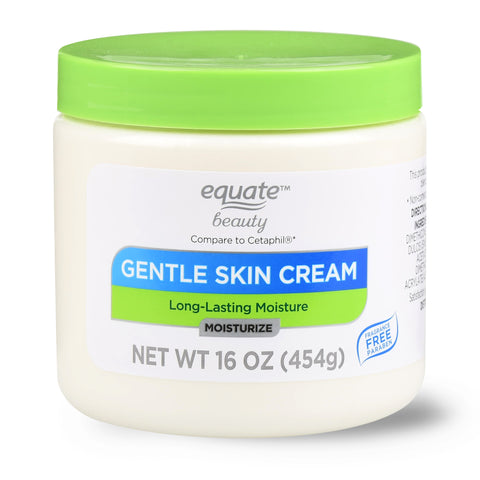 Equate Beauty Gentle Skin Cream with Long-Lasting Moisture, 16 oz
