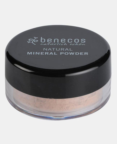 MINERAL POWDER LOOSE - Benecos  - Golden Hazelnut - Buy Beauty Products